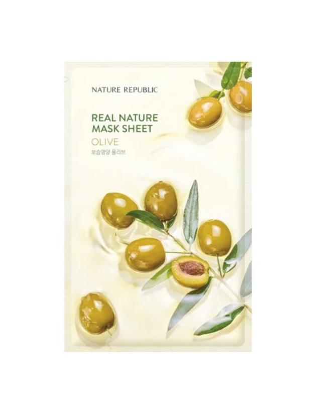 Nature Republic Real Nature Olive Sheet Mask