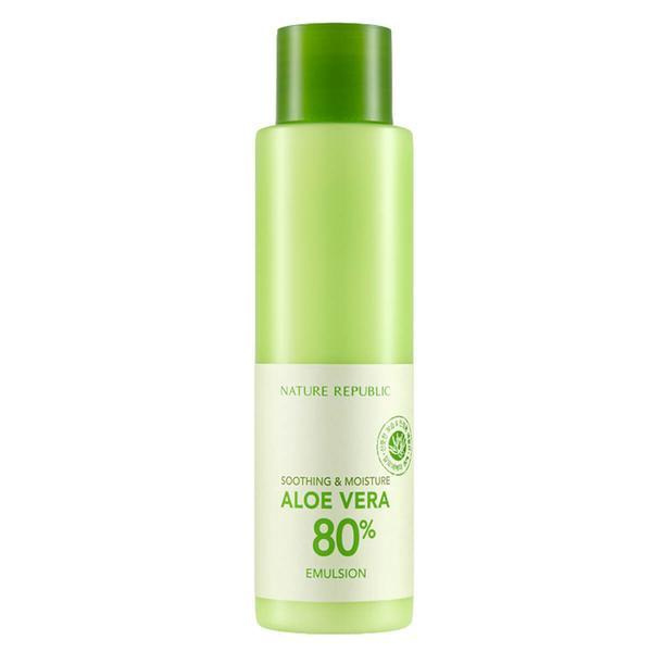 Nature Republic Soothing & Moisture Aloe Vera 80 Emulsion