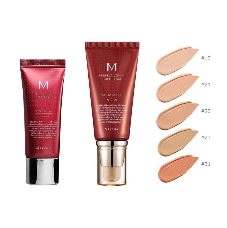 MISSHA M Perfect Cover BB Cream SPF42 PA+++ 20 ml