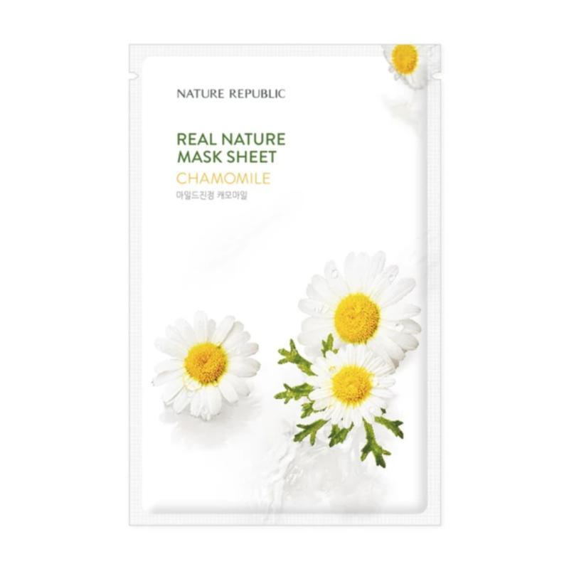 Nature Republic Real Nature Chamomile Sheet Mask