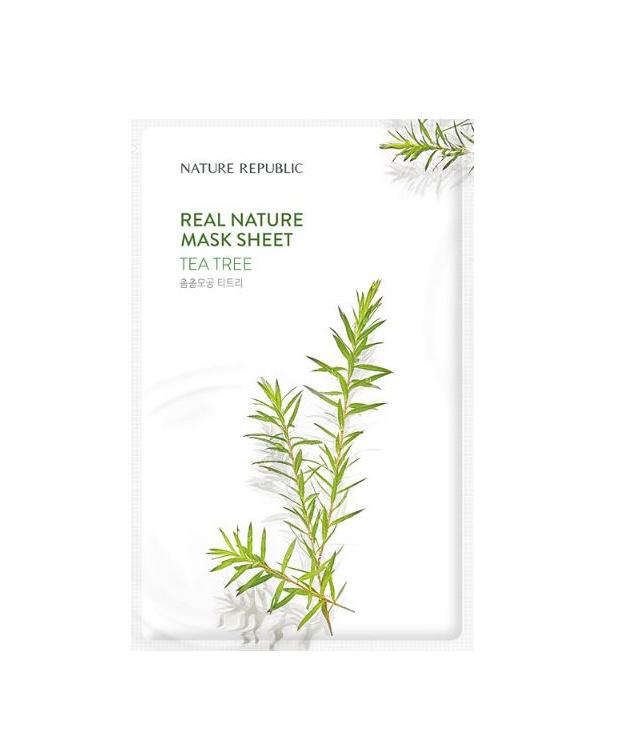 Nature Republic Real Nature Tea Tree Sheet Mask