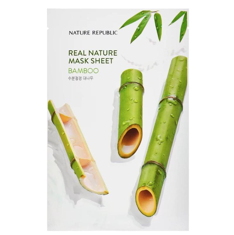Nature Republic Real Nature Bamboo Sheet Mask