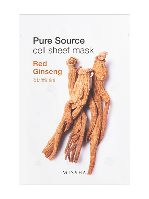 MISSHA Pure Source Cell Sheet Mask Red Ginseng