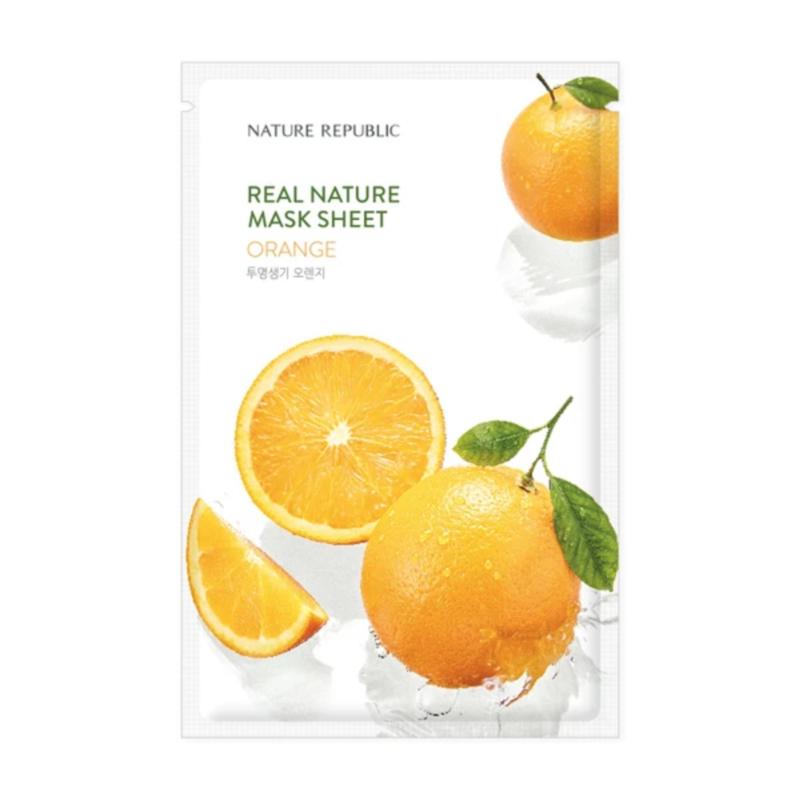 Nature Republic Real Nature Orange Sheet Mask