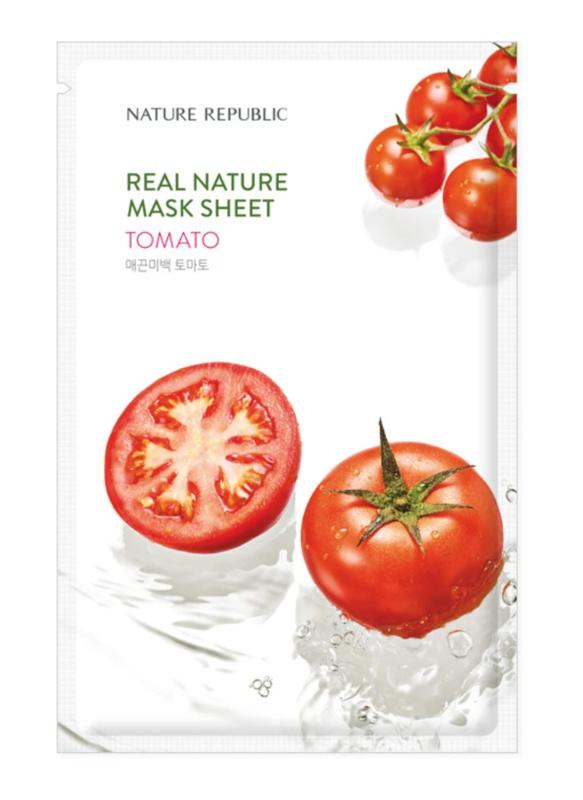 Nature Republic Real Nature Tomaten Sheet Masker