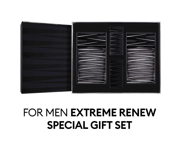MISSHA For Men Urban Soul Extreme Renew Special Gift Set