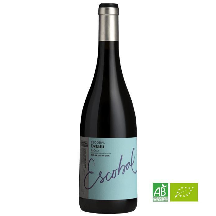 """Rioja """"Escobal de Ostatu"""" 2018 - Ostatu"""