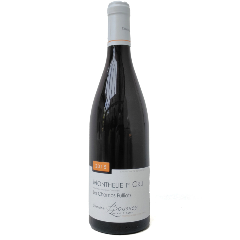 """Monthélie 1er Cru """"Champs Fulliots"""" 2015 - Laurent Boussey"""