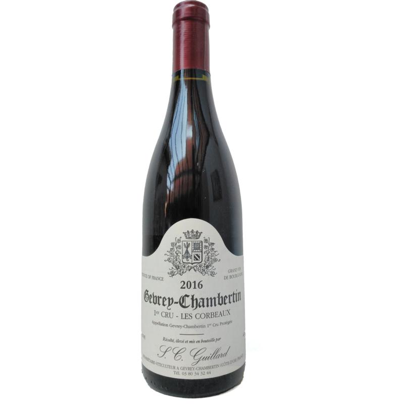 "Gevrey-Chambertin 1er Cru ""Les Corbeaux"" - S.C. Guillard"