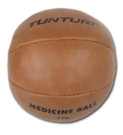 Medicijn bal - hoge kwaliteit kunstleer - 1 KG