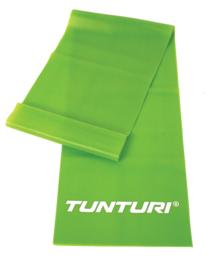 Tunturi Weerstandsband - Fitness elastiek - Medium Weerstand - Groen