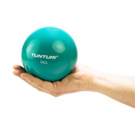 Tunturi Toning bal voor pilates, kracht en balans oefeningen - 1 KG