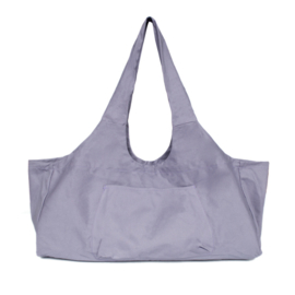 Mila - Yoga tas XL - canvas - open - Lila