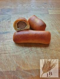 Biologische worstenbroodje  2 stuks (100% NL)