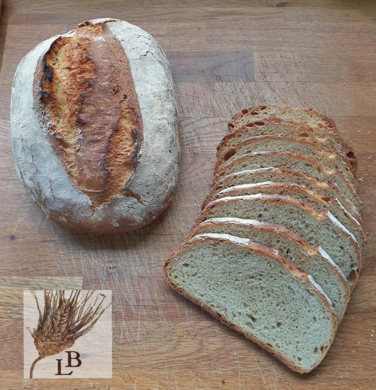 Biologische tarwe wit gistbrood (100% NL)