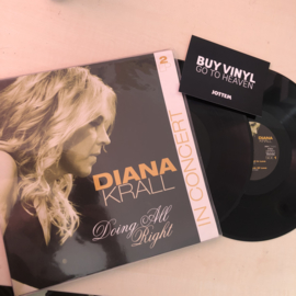 DIANA KRALL - DOING ALL RIGHT 2LP (USED RECORD)