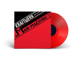 KRAFTWERK - MAN-MACHINE RED COLOURED REISSUE