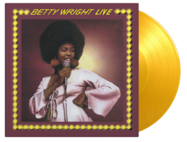 BETTY WRIGHT - BETTY WRIGHT LIVE (GOLD COLOURED VINYL)