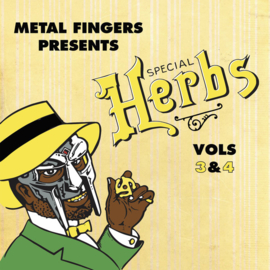 METAL FINGERS PRESENTS SPECIAL HERBS VOLUME 3 & 4 (MF DOOM)