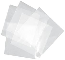 """PLASTIC LP BESCHERMHOEZEN 12"""" FORMAAT 100 STUKS"""