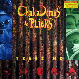 CHAKA DEMUS & PLIERS - TEASE ME YELLOW COLOURED VINYL 12""
