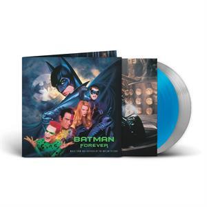 BATMAN FOREVER ORIGINAL SOUNDTRACK BLUE/SILVER VINYL