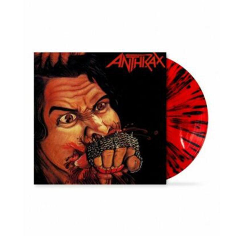 ANTHRAX - FISTFUL OF METAL RED/BLACK SPLATTERED VINYL