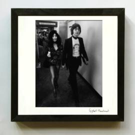 John Lennon & Yoko Ono door Gijsbert Hanekroot