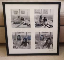 Vierluik John Lennon & Yoko Ono