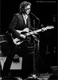 Bob Dylan '74 door Gijsbert Hanekroot