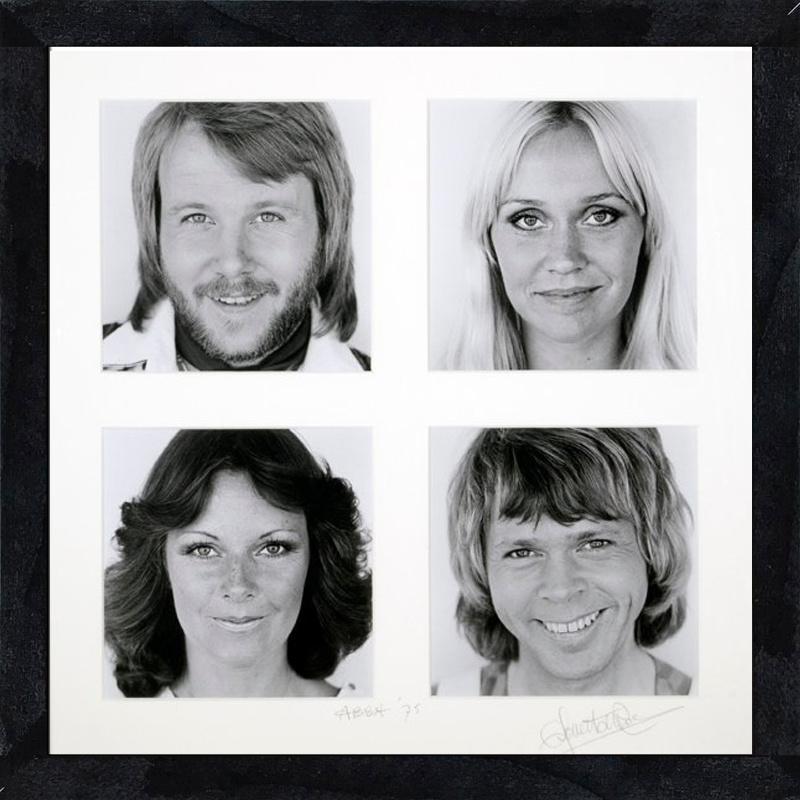 Vierluik ABBA 1975