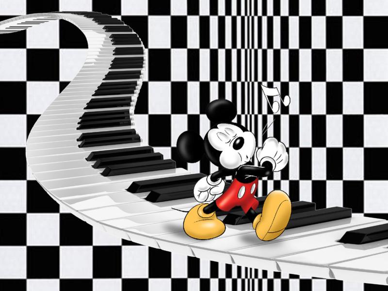 Mickey Mouse door Rens Benerink