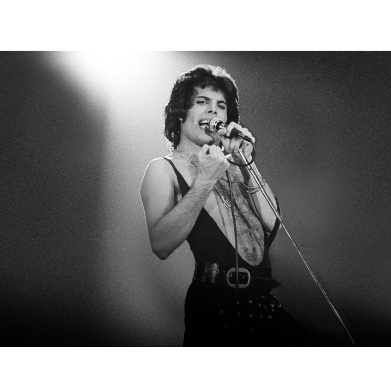 Freddie Mercury, 17 mei 1977 door Govert de Roos