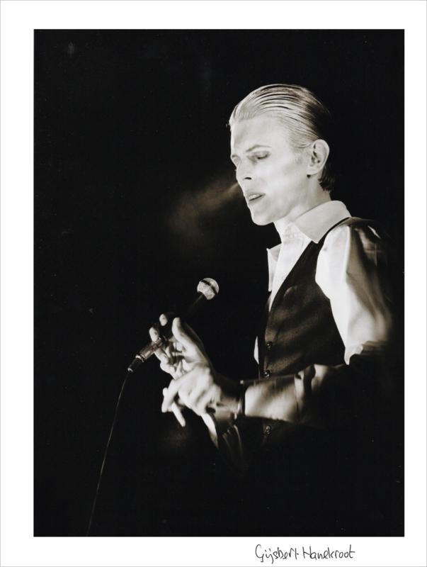 David Bowie 1976 / Gijsbert Hanekroot