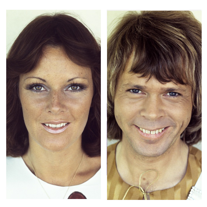 Vierluik ABBA 1975 colour