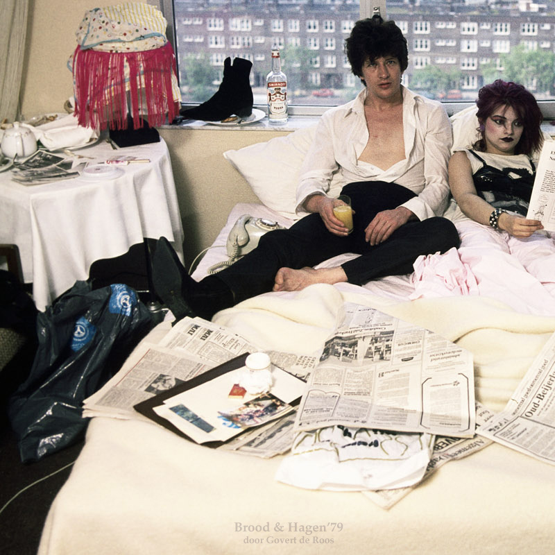 Herman Brood en Nina Hagen '79