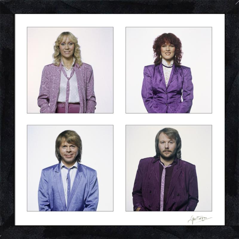 Vierluik ABBA Stockholm 1980