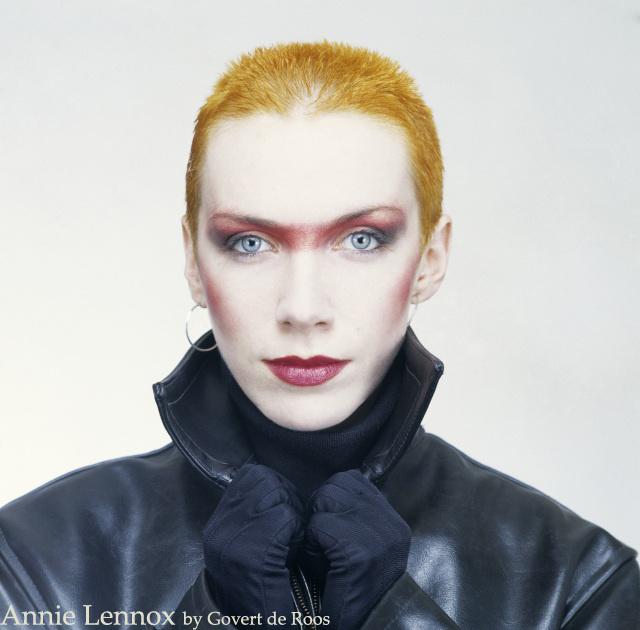 Annie Lennox, the Eurythmics. April 1983