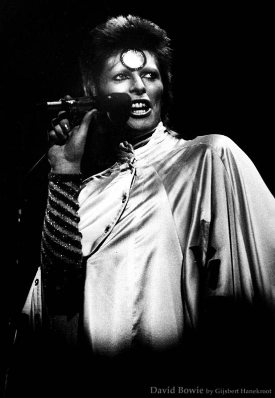 David Bowie '73 door Gijsbert Hanekroot