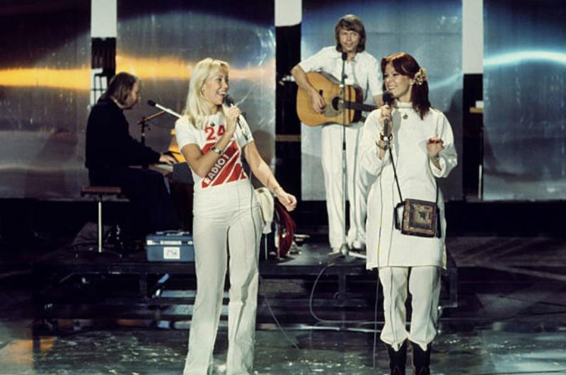 ABBA  1976 - Rehearsals