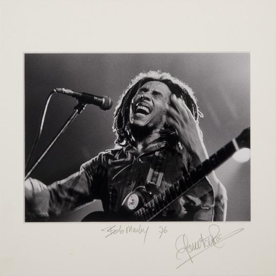 Bob Marley 1976 / Govert de Roos