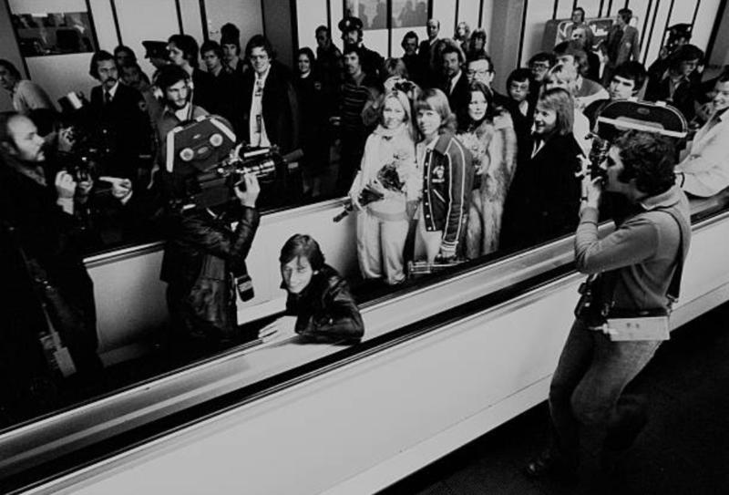 ABBA  at Schiphol '76