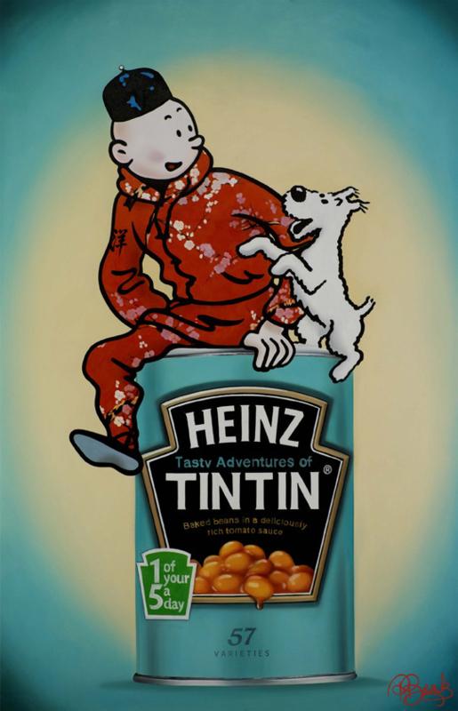 TinTin door Rens Benerink