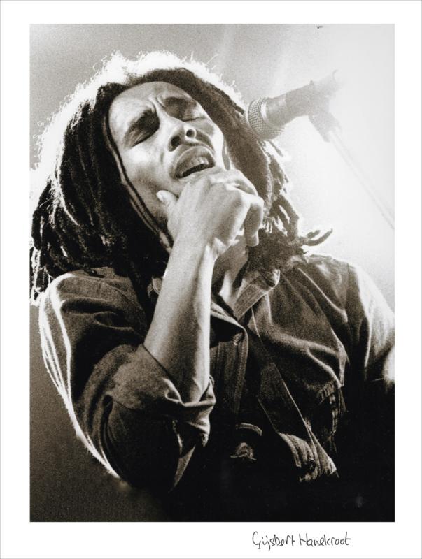 Bob Marley 1977 / Gijsbert Hanekroot