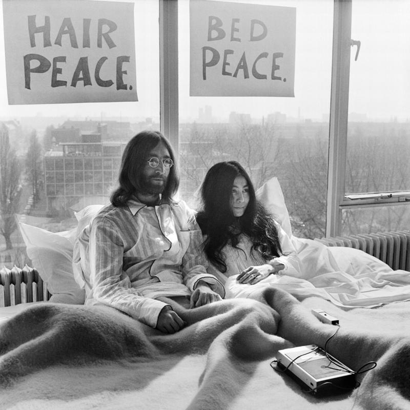 John & Yoko door Govert de Roos