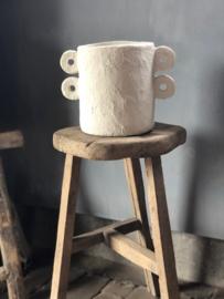 Paperpulp pot MARIE