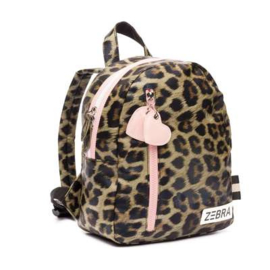 Rugzak LEOPARD & PINK small