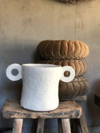 Paperpulp pot MARIE (L)