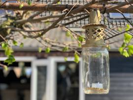 Lantaarn goudkleurig (jampot lantaarn)