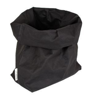 "Essenti""al wasbare paperbag   opbergzak L zwart"